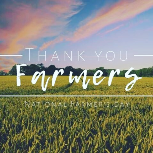 Image with Thank you Farmers